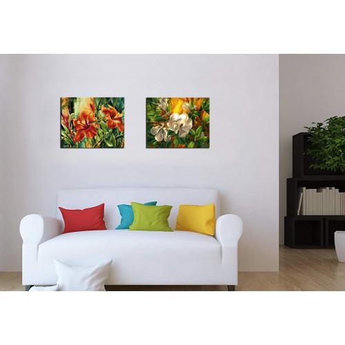"""Набор """"Цветы: Гибискус + Магнолия"""""""
