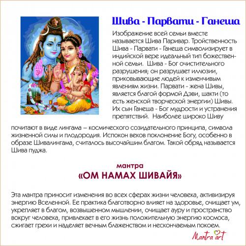 Шива Парвати Ганеша