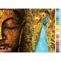 Будда с павлином