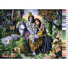 Кришна Радха 5051